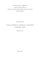 prikaz prve stranice dokumenta Analiza troškova i koristi u kontekstu Europske unije