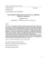 prikaz prve stranice dokumenta POZICIONIRANJE PROIZVODA NA POLICAMA NA PRIMJERU PODUZEĆA PODRAVKA